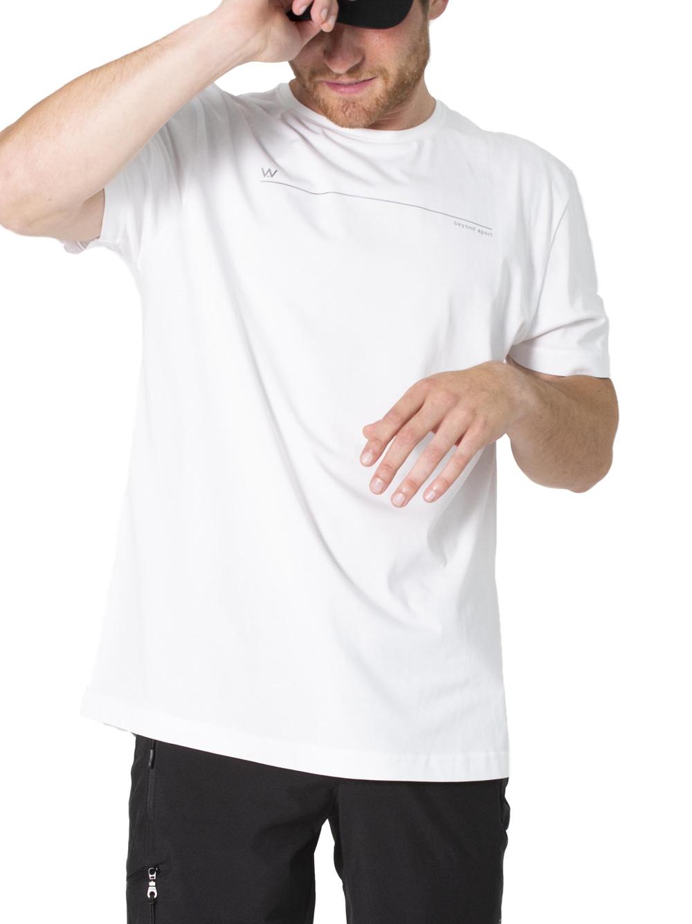 T-shirt uomo sport padel Shangai Bianca
