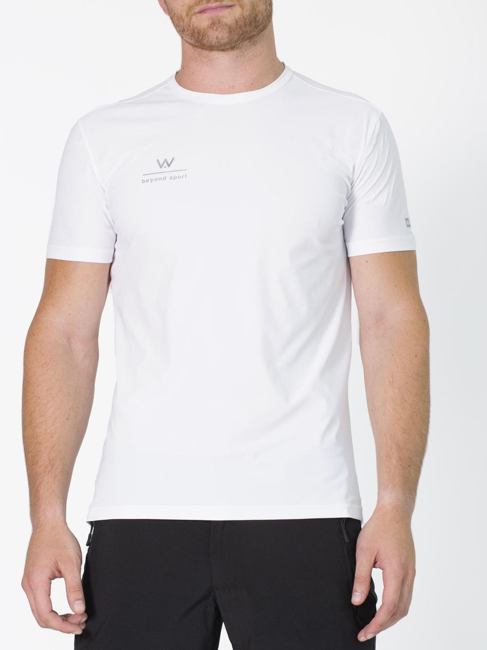 T-shirt uomo sport padel Tokyo Bianca