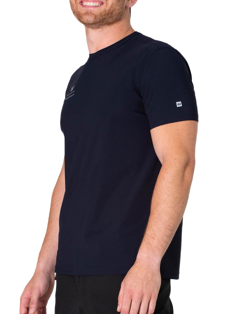 T-shirt uomo sport padel Shangai Gialla